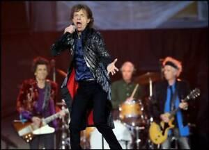 Rolling Stones June 29 Only 1 canadian Stop/GRANDSTAND & GEN. AD