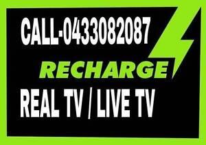 REAL TV / LIVE TV RECHARGE / REMOTES/  NEW BOXES Melbourne CBD Melbourne City Preview