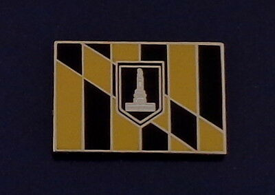 City of Baltimore Maryland Flag LAPEL PIN MD - Baltimore Md City Flag