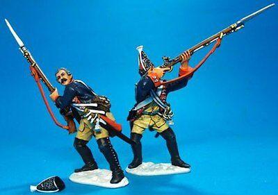 JOHN JENKINS SEVEN YEARS WAR 1757 LEUT-08 PRUSSIAN GRENADIERS FIRING MIB