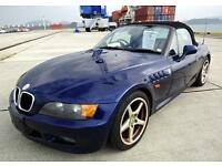 IMPORTED BMW Z3 ROADSTER CONVERTIBLE 1.9 AUTOMATIC * ONLY 28000 MILES