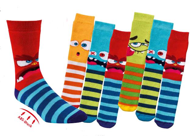 3 Paar ABS Kinder Socken 19-22 23-26 27-30 31-34 Jungen Mädchen Fliesenflitzer