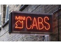 **WANTED** MINICAB TAXI OFFICE OPERATORS - London to M25 Area - with Gold Numbers and Hotel Accounts