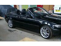 Bmw e46 convertible good condition part history full years mot