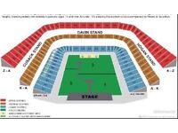 Coldplay Tickets x2 Croke Park