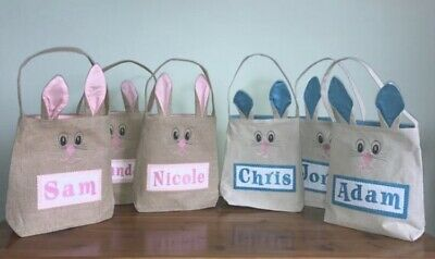 Personalized Easter Basket, Easter Basket With Bunny Ears, Bunny Bag, Easter Bag](Halloween Baskets Personalized)