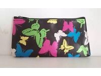 Colourful Butterfly Make-Up Brushes Bag