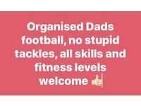 Organised dads football