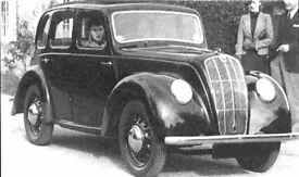 1948 Morris 8 breaking for parts / spares Rat Rod Hot Rod Hotrod & Chassis V5c