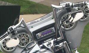 Harley Davidson / kenwood deck with Polk audio speakers
