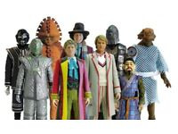 Wanted-doctor who 5 inch figures