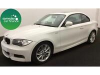 ONLY £178.20 PER MONTH WHITE 2010 BMW 118D 2.0 M SPORT COUPE 2 DR DIESEL MANUAL