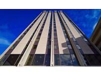 This landmark, 17-storey building is a prominent feature of the Bristol business area.