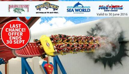 Unlimited pass to Warner Bros. Movie World, Sea World, GOLD COAST West Perth Perth City Preview