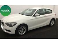 £193.95 PER MONTH WHITE 2014 BMW 116D 2.0 TDI SE STEP 3 DOOR DIESEL AUTO