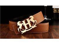 H Belts For Sale ~ Men's & Womens Designer Belts