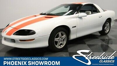 1997 Chevrolet Camaro Z28 30TH Anniversary Edition Camero Z/28 Z 28 White Hugger Orange Auto Collector Classic Vintage Upgraded Rar