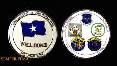 Skunk Works Presented By General Hq Challenge Coin Us Air Force Well Done   Wow