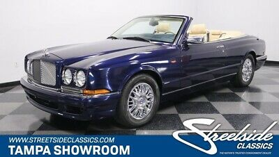 2002 Bentley Azure Convertible LOW 13K ACTUAL MILES 2 OWNERS CLEAN CARFAX 6.75 V8 TURBO UPPER-CLASS LUXURY