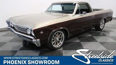 1967 Chevrolet El Camino  Pickup Chevy V8 SBC TH350 Auto Classic Vintage Collector Two-Tone Edelbrock A/C