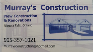 Carpentry by Murray's Construction