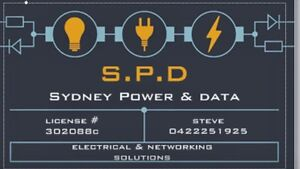 Sydney power & data- Licensed Electrician, Blacktown Blacktown Area Preview