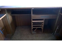 Office desk cupboard bureau