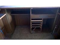 Office Hideaway desk cupboard bureau