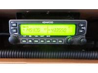Kenwood TM-V71e true Dualband ham radio plus remote face kit
