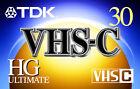 JVC VHS-C Camcorder Tapes & Discs for JVC