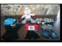 Bundle Build A Bear Hackus Smurf Clothes