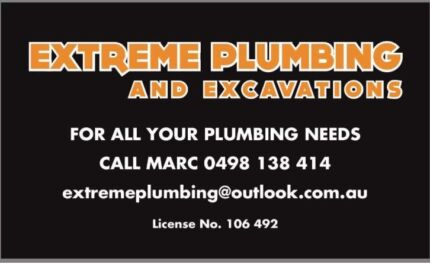 Extreme plumbing and excavations
