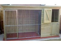 14 x 4 ft dog kennel and run