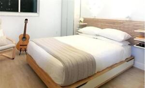 Ikea Mandal Queen Size Bed Frame
