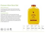 Cold stabilized Aloe Vera gel (not juice) 1 ltr for sale