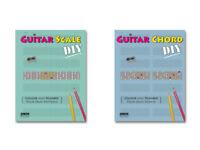 Guitar Scale/Chord DIY notebooks