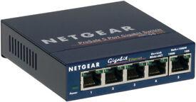 Netgear 5 port Gigabit Switch GS105