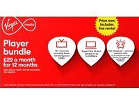 Virgin Media- *Limited Deal*- Player Bundle-- *Referral Award*