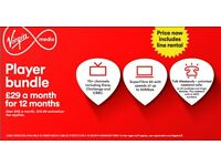 Virgin Media- *Limited Deal*- Player Bundle-- *Referral Award*