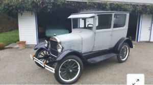 1926 Ford Model T. Almost completely restored