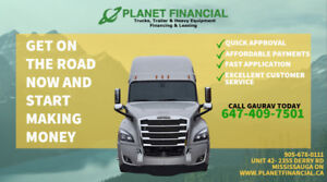 TRUCK LOAN, TRAILER LOAN &EQUIPMENT LOANS - PLANET FINANCIAL