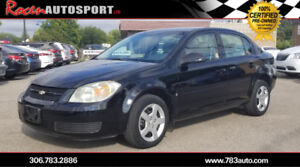 CERTIFIED 2007 CHEVY COBALT LT -  REMOTE START - YORKTON