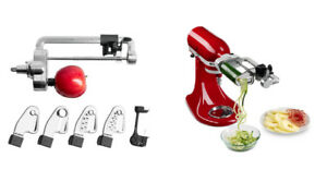 Kitchenaid 5 Blade Spiralizer with Peel, Core and Slice NEW $149