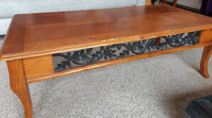 Coffee Table (and 2 End Tables)  For Sale