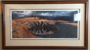 "CALLING THE BUFFALO by Bev Doolittle """" Limited Edition Print"