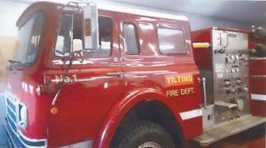 For Sale By Tender - 1976 International Pumper Fire Truck