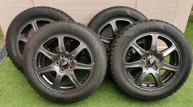 "4 x Genuine Jaguar 16"" Alloys"