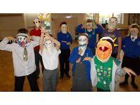 Volunteer for Art based self esteem program for children