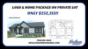 Land and Home Package on Private Lot