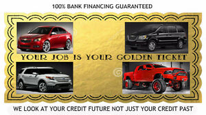 Your Job is Your Golden Ticket To Finance a Vehicle